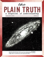 Personal from the Editor Plain Truth Magazine January 1963 Volume: Vol XXVIII, No.1 Issue: