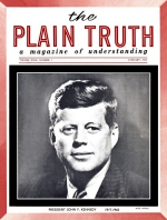 Personal from the Editor Plain Truth Magazine January 1964 Volume: Vol XXIX, No.1 Issue: