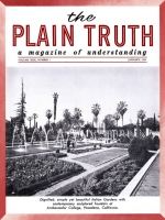 The MIRACLE of Pearl Harbor Plain Truth Magazine January 1965 Volume: Vol XXX, No.1 Issue: