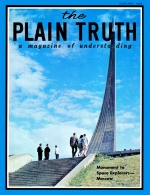 WHY Foot-and-Mouth Disease Plagues Britain Plain Truth Magazine January 1968 Volume: Vol XXXIII, No.1 Issue:
