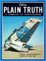 WELFARE - A Social Disaster? Plain Truth Magazine January 1971 Volume: Vol XXXVI, No.1 Issue: