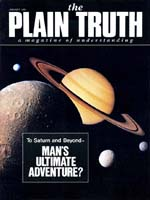 Voyager 1 to Saturn Latest Leap into Space Plain Truth Magazine January 1981 Volume: Vol 46, No.1 Issue: ISSN 0032-0420