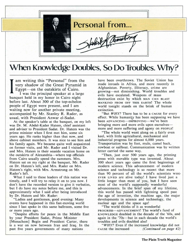 When Knowledge Doubles, So Do Troubles. Why?