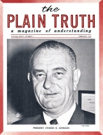 Tithing PAYS OFF - here's the PROOF! Plain Truth Magazine February 1964 Volume: Vol XXIX, No.2 Issue: