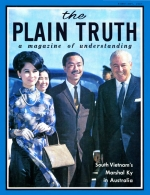 How The PLAIN TRUTH Fills Today's Knowledge Gap Plain Truth Magazine February 1967 Volume: Vol XXXII, No.2 Issue:
