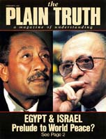 MT. SINAI JERUSALEM Now Foreshadow World Peace Plain Truth Magazine February 1981 Volume: Vol 46, No.2 Issue: ISSN 0032-0420