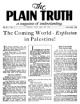 The Coming World – Explosion in Palestine!