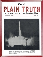Where Will the Millennium Be Spent? In Heaven? or on Earth? Plain Truth Magazine March 1958 Volume: Vol XXIII, No.3 Issue: