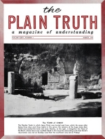 The CRUCIFIXION was NOT on FRIDAY! Plain Truth Magazine March 1959 Volume: Vol XXIV, No.3 Issue: