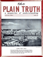 The Bible Study - The Plagues of Egypt Plain Truth Magazine March 1960 Volume: Vol XXV, No.3 Issue: