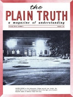 Special Interview: The KEY to Good Health - Part I Plain Truth Magazine March 1962 Volume: Vol XXVII, No.3 Issue: