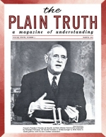 DATELINE – BONN Plain Truth Magazine March 1963 Volume: Vol XXVIII, No.3 Issue: