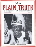 Personal from the Editor Plain Truth Magazine March 1964 Volume: Vol XXIX, No.3 Issue: