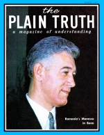 AN EXCITING PREVIEW OF TOMORROW'S CITIES Plain Truth Magazine March 1967 Volume: Vol XXXII, No.3 Issue: