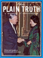 The Reasons Behind - INDIA'S Uncertain Future Plain Truth Magazine March 1969 Volume: Vol XXXIV, No.3 Issue: