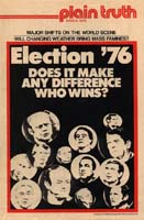 America's Two Choices Plain Truth Magazine March 1976 Volume: Vol XLI, No.3 Issue: