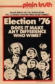 Plain Truth Magazine March 1976 Volume: Vol XLI, No.3 Issue:
