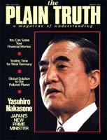 Coming Soon A GLOBAL SOLUTION TO OUR POLLUTED PLANET! Plain Truth Magazine March 1983 Volume: Vol 48, No.3 Issue: