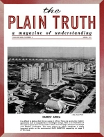 WHERE Did God Command YOU to Observe Lent? Plain Truth Magazine April 1957 Volume: Vol XXII, No.4 Issue:
