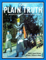 WITH WILSON IN BONN Plain Truth Magazine April 1967 Volume: Vol XXXII, No.4 Issue: