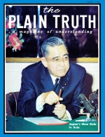 JAPAN'S NEW ROLE IN ASIA Plain Truth Magazine April 1968 Volume: Vol XXXIII, No.4 Issue: