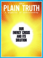 ENERGY ALTERNATIVES Plain Truth Magazine April 1974 Volume: Vol XXXIX, No.4 Issue: