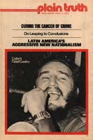 PANAMA CANAL ISSUE FLARES ANEW Plain Truth Magazine April 5, 1975 Volume: Vol XL, No.6 Issue: