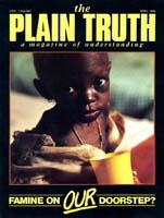 Overlooked In-Between Years Plain Truth Magazine April 1985 Volume: Vol 50, No.3 Issue: