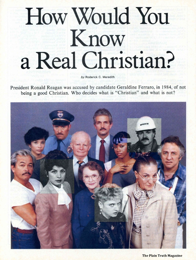 How Would You Know a Real Christian?