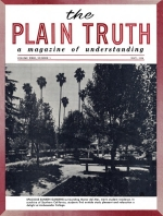 Is WATER BAPTISM Essential? Plain Truth Magazine May 1958 Volume: Vol XXIII, No.5 Issue: