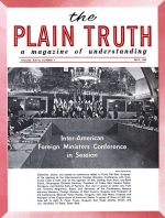 New Threat to U.S. in LATIN AMERICA Plain Truth Magazine May 1962 Volume: Vol XXVII, No.5 Issue: