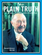 The Tragedy of Our POLLUTED PLANET!... and what Bible prophecy reveals will be done to solve the problem. Plain Truth Magazine May 1967 Volume: Vol XXXII, No.5 Issue: