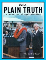ALOHA, MR. PRESIDENT! Plain Truth Magazine May 1968 Volume: Vol XXXIII, No.5 Issue: