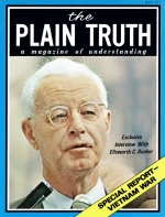 I Visit the War Zone Plain Truth Magazine May 1971 Volume: Vol XXXVI, No.5 Issue: