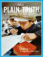 But my son is a good boy! Plain Truth Magazine May 1972 Volume: Vol XXXVII, No.4 Issue: