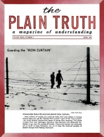SLAVE LABOR CAMPS are coming back! Plain Truth Magazine June 1958 Volume: Vol XXIII, No.6 Issue:
