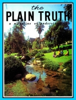Personal from the Editor Plain Truth Magazine June 1966 Volume: Vol XXXI, No.6 Issue: