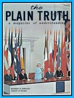 What You Should Know About BIRTH DEFECTS Plain Truth Magazine June 1969 Volume: Vol XXXIV, No.6 Issue: