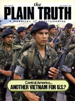 The U.S.A. PARALYZED BY THE GHOST OF VIETNAM Plain Truth Magazine July-August 1983 Volume: Vol 48, No.7 Issue: