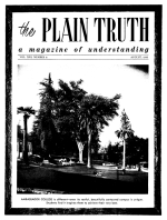 The Origin of LIFE - Part II Plain Truth Magazine August 1956 Volume: Vol XXI, No.8 Issue: