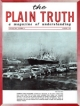 Plain Truth Magazine August 1960 Volume: Vol XXV, No.8 Issue: