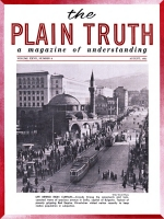 Listen to The WORLD TOMORROW Plain Truth Magazine August 1962 Volume: Vol XXVII, No.8 Issue: