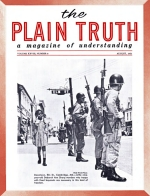 HUNDREDS HAVE ASKED - What Is the DEVIL'S RELIGION? Plain Truth Magazine August 1963 Volume: Vol XXVIII, No.8 Issue: