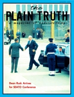 INSIDE REPORT ON SEATO CONFERENCE Plain Truth Magazine August 1966 Volume: Vol XXXI, No.8 Issue: