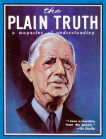 EVOLUTION'S LAST GASP! Plain Truth Magazine August 1968 Volume: Vol XXXIII, No.8 Issue: