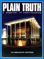 ABORTION PROGRESS OR MURDER? Plain Truth Magazine August 1974 Volume: Vol XXXIX, No.7 Issue: