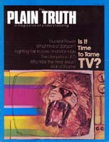 WALL OF SHAME Plain Truth Magazine August 1976 Volume: Vol XLI, No.7 Issue: