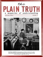 Vital Facts about Food Plain Truth Magazine September 1957 Volume: Vol XXII, No.9 Issue: