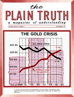 OFFICIAL REPORT - Coming: Greatest Economic Crash Ever! Plain Truth Magazine September 1963 Volume: Vol XXVIII, No.9 Issue: