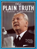 Why Church Unity Eludes Theologians Plain Truth Magazine September 1968 Volume: Vol XXXIII, No.9 Issue: